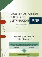 Caso Lozalizacion Cedi-Forero