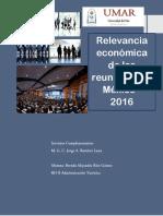La Relevancia Económica de Las Reuniones en México
