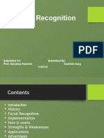 Face Recognigion-System Ppt