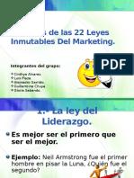 ejemplosdelas22leyesinmutablesdelmarketing-131010215033-phpapp01.pptx