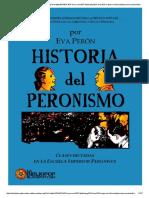 Historia Del Peronismo x Evita Perón.