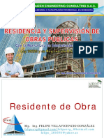 Residencia y Supervision de Obras i