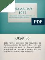 NMX-AA-049-1977