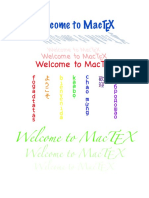 Welcome to Mac Tex