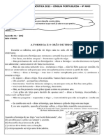 Avalia Diagnose Portugues 4ano