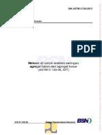 2. SNI ASTM C136-2012 Meteode Analisi Saringan Agregate Halus Dan Agregat Ksaar