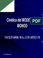 Cinetica de Monod 2016