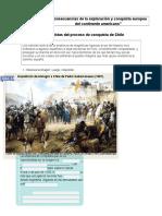 Guía Proceso de Conquista de Chile