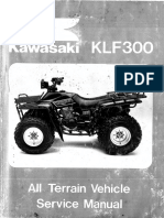 kawasaki bayou 300 service manual repair bearing mechanical rh es scribd com Kawasaki KFX 50 Manual