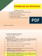Clase 15. Control de Calidad de Alimentos 2015