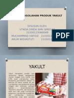 Proses Pengolahan Produk Yakult Indonesia