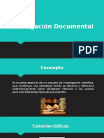 Investigación Documental Power Point