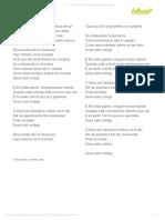 DEUS ESTÁ CONTIGO - Rose Nascimento (Impressão)