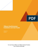 VMware Health Analyzer Install and User Guide v5.0.5 En