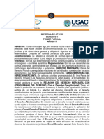 Derecho II 1er. Parcial 2017