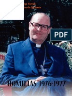 Jorge Novak, homilías 1976-1977