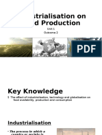 chapter 4- industrialisation and food production