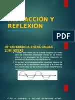 Refracción y Reflexión