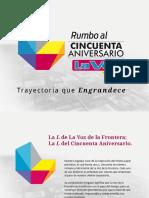 Presentación del Logotipo de 50 Aniversario de La Voz de la Frontera