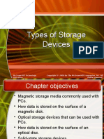 Types of Storagedevices
