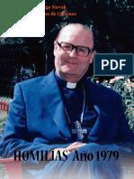 Jorge Novak, Homilías 1979