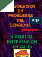 Niveles de Prevencion, Programa de Prevencion