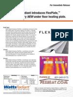 Watts Radiant Press Release FlexPlate-En-20100401