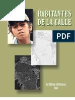 III Censo Sectorial 2001 Bogotá - IDIPRON, DANE