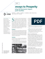 Assessing Economic Impact of Bicycle Facilities