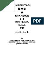 Akreditasi 5.1.1