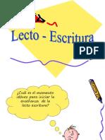 Lecto-escritura
