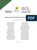Reglamento General XXV CEU 2017