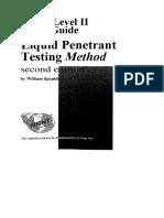 ASNT Level II Study Guide Liquid Penetrant Testing Method