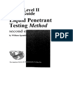 ASNT Level II Study Guide Liquid Penetrant Testing Method