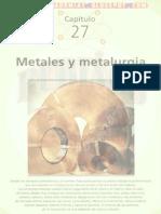 METALES Y METALURGIA