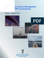 Post Award Contract Management for Highway PPP Concessions