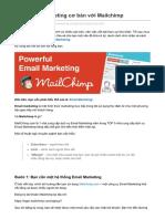 blog.mediaz.vn-Học Email Marketing cơ bản với Mailchimp