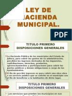 Ley de Hacienda Municipal ciudad guzman jalisco