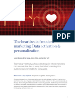 The Heartbeat of Modern Marketing Data Activation and Personalization