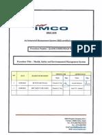 Qa Imco Hse Ms Qt 001 Hse Management System