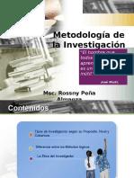 Clase de Metodología de Investigación (Tipos de Investigacion)