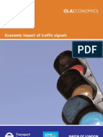 Economic impact of Traffic Signals - full report