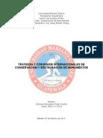 Conservacion de Monumentos Convenios Tratados Leyes