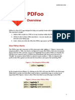 PDFoo Overview