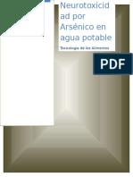 neuro arsenico agua