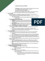 Unit 3 Physiology Skafar Puberty and Aging