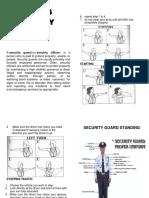 security guard handbookpdf
