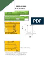 Diseño de Secciones de Vigas Concreto
