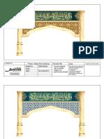 Desain Kaligrafi Masjid Aceh