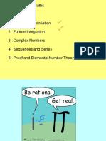 Advanced Higher Maths 2.3